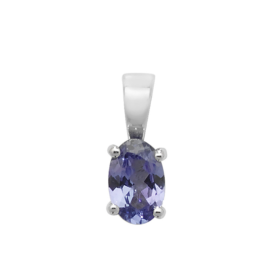 collection the pendant cushion gn tanzanite product shaped