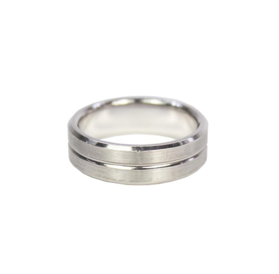 Womens Tire Tread With Diamonds Wedding Rings