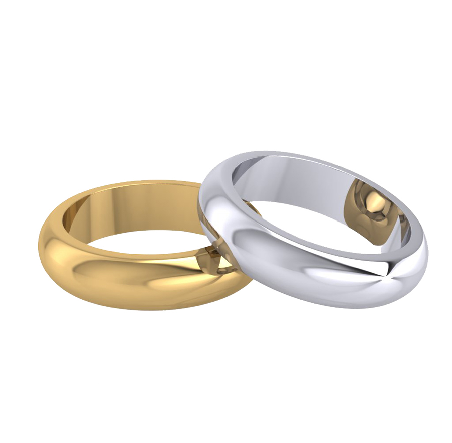handmade than gold plain yellow traditional rings band to products ring perfection less solid